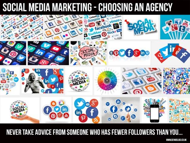 social media marketing - choosing an agency