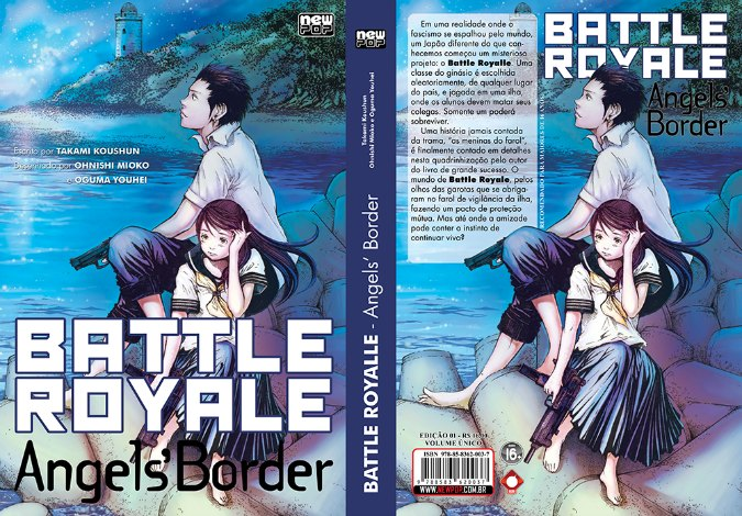 BATTLE ROYALE: Angels' Border (Volume Único)