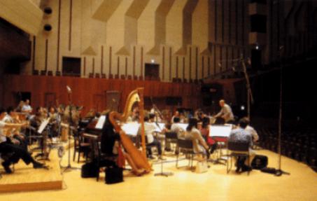 Gravação da OST para o filme Vidas ao vento