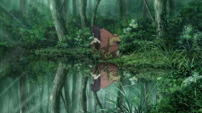 mushishi paisagem