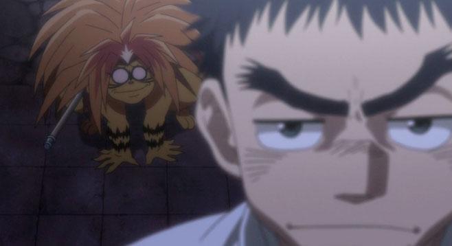 Ushio não é lá muito inteligente, mas o Tora... é pior!