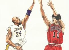 Mentalidade Mamba - Como a filosofia de Kobe Bryant se encaixa no mundo dos animes