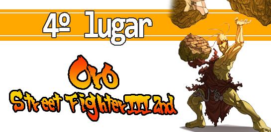 Oro Street fighter III 2nd