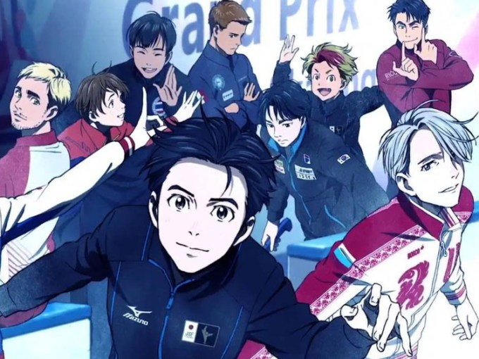 anime Yuri on Ice