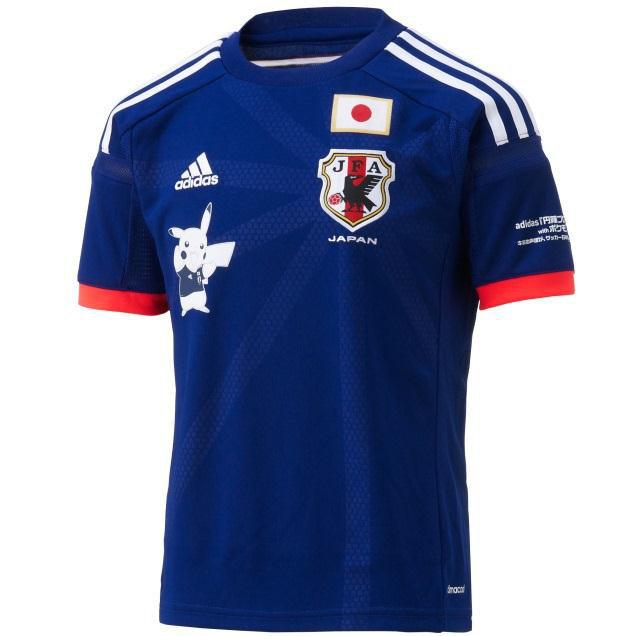 86e99be9d9 Camisa promocional da seleção japonesa com Pikachu - Portal Genkidama