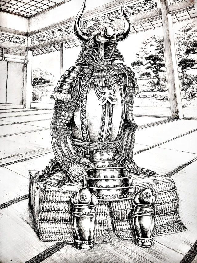 Ilustração de Mauricio Ossamu 2