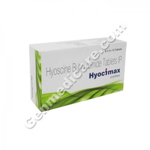 ⭐Buy Hyocimax 10 mg Tablet (Hyoscine Butylbromide) | GenMedicare.com
