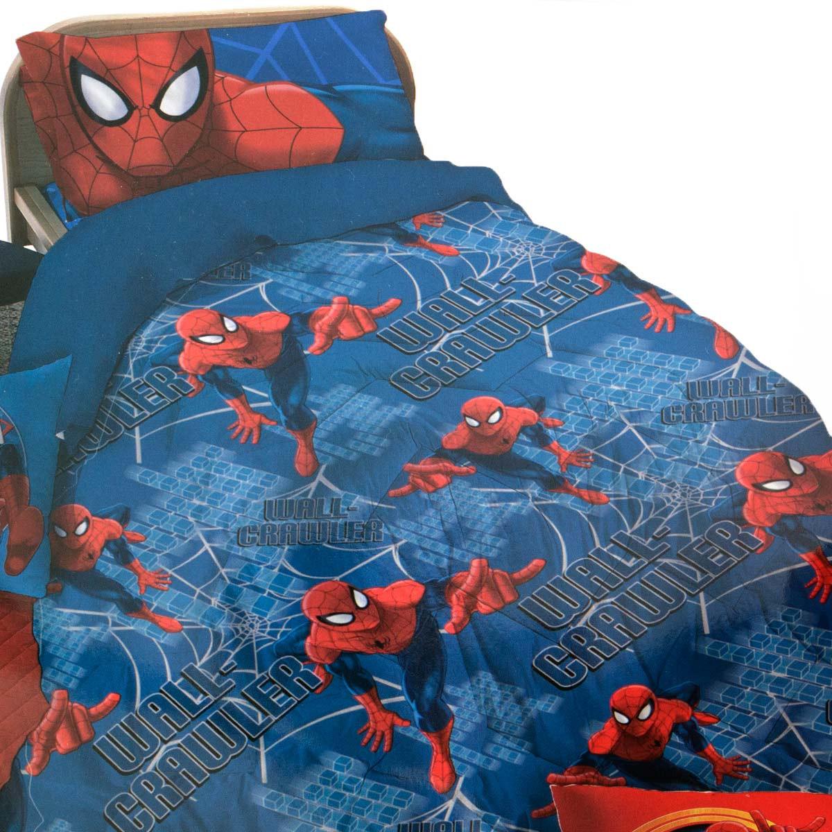 Completo lenzuola spiderman marvel in cotone singolo una piazza z014. Gbh 41894 Trapunte Singole Trapunta Spiderman Singola Piumone Uomo Ragno Microfibra By Marvel