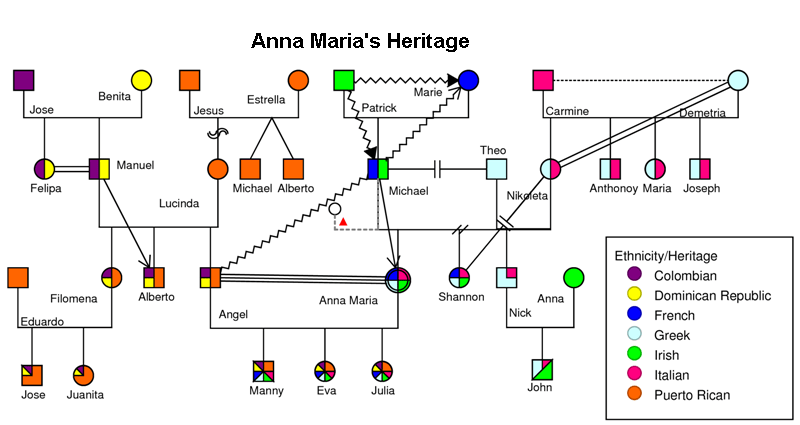 Genogram Examples - Genogram Analytics