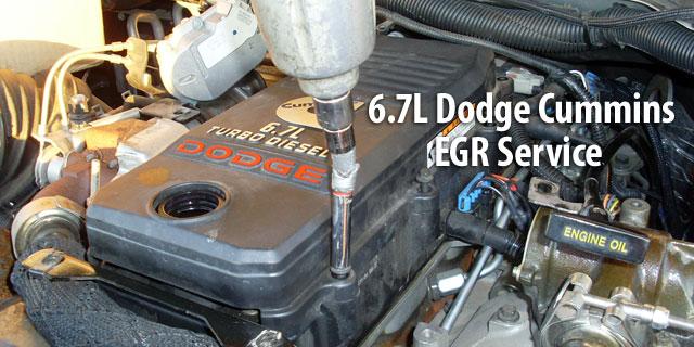 dodge cummins diesel egr service parts