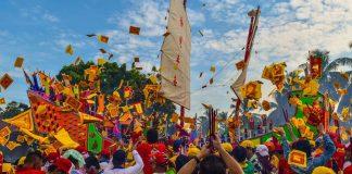 Festival Bakar Tongkang 2017 / Foto R. Heru Dikali