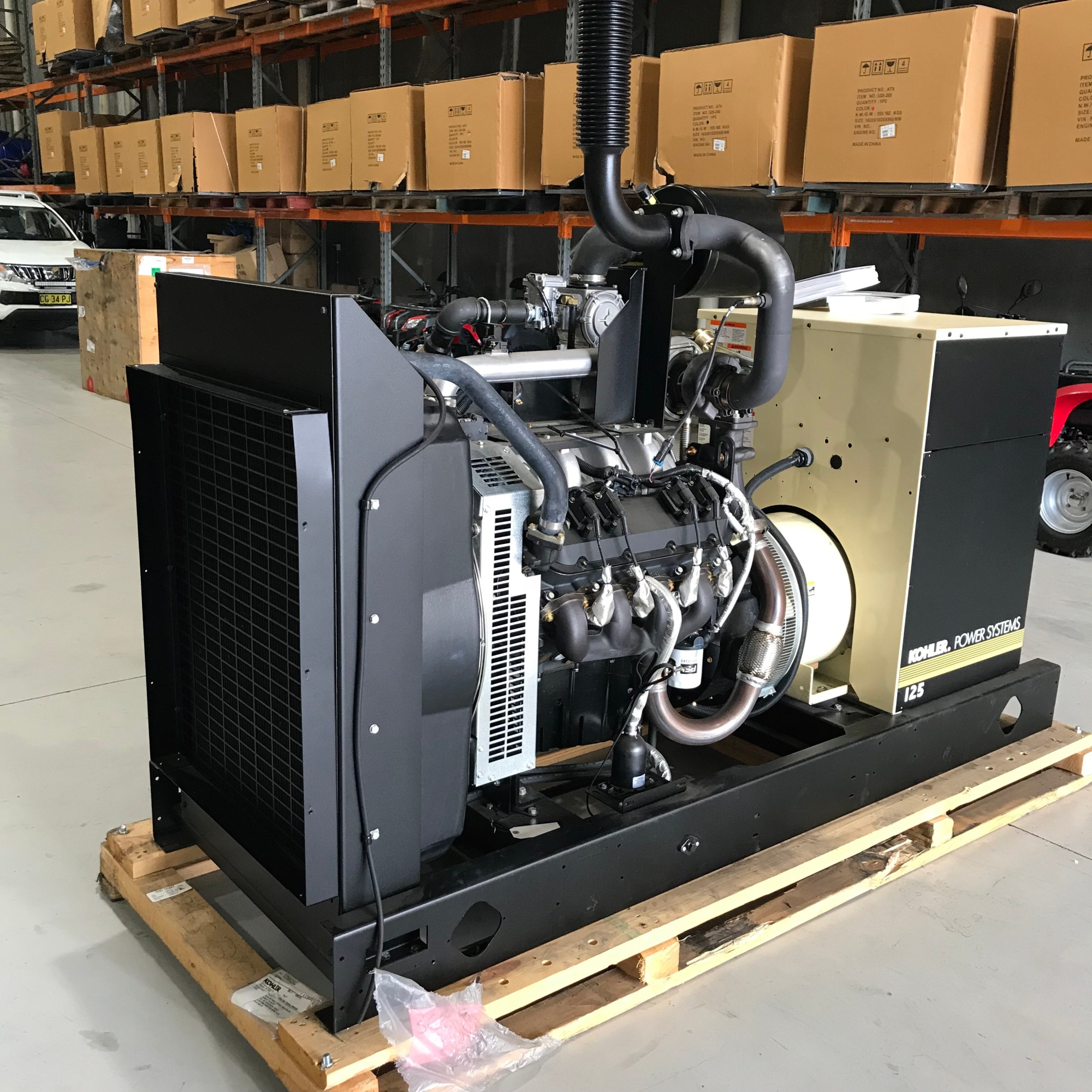 hight resolution of kohler array kohler 110kva 125rzgc gas generator u2013 lpg complied to australian rh genquip