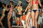 Bikini Babes invade the stage