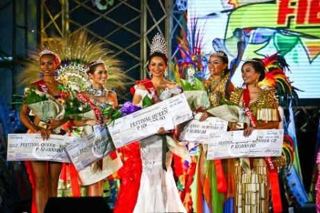 Romarie Ivy Cunanan with the other Festival winners