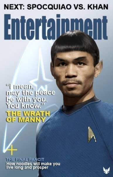 Pacquiao Funny Picture 1 - Pockman