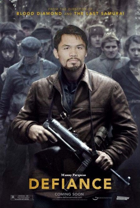 Pacquaio Funny Picture - DEFIANCE