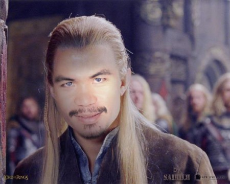 Pacquiao Funny Picture #4 - Lord of the Rings' Legolas
