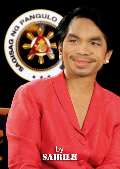 Pacquiao Funny Picture - PGMA spoof