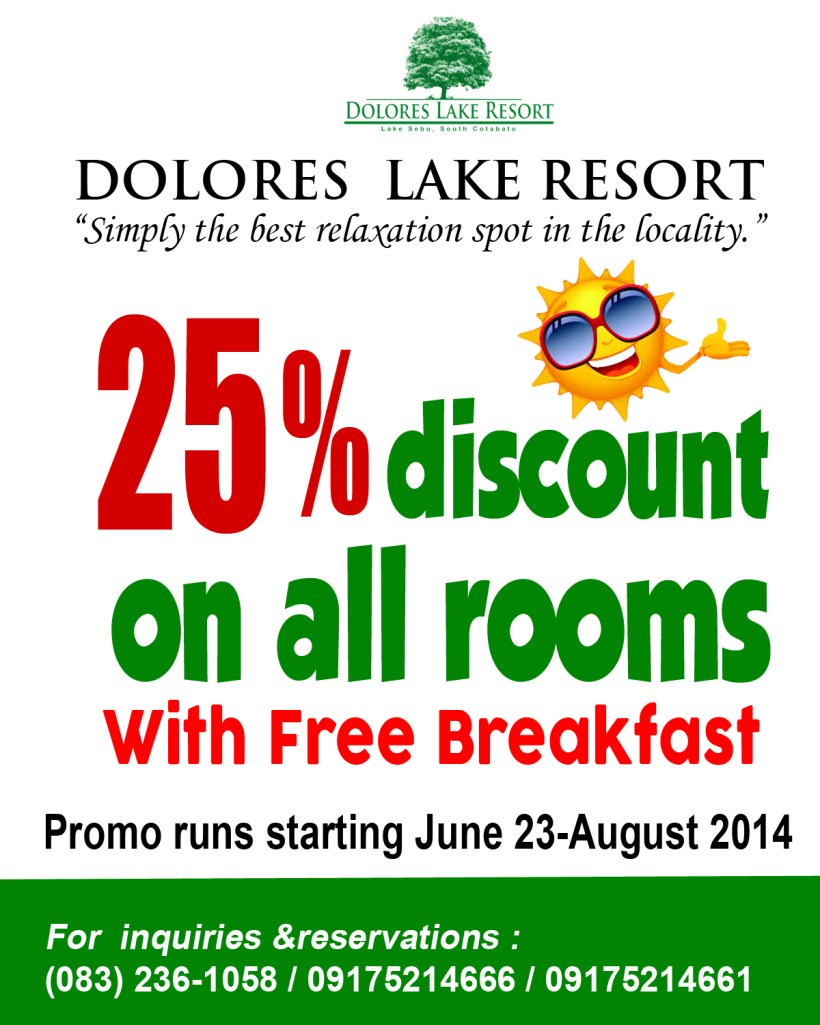 Dolores Lake Resort Promo