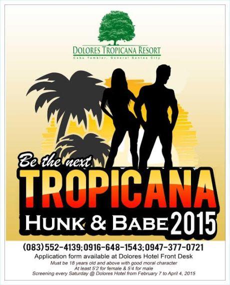 Tropicana Hunk & Babe 2015