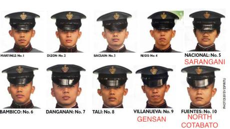TOP 10 PMA Cadets from Sox