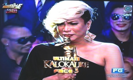 vice ganda kalokalike, daniel aliermo, it's showtime, abs-cbn