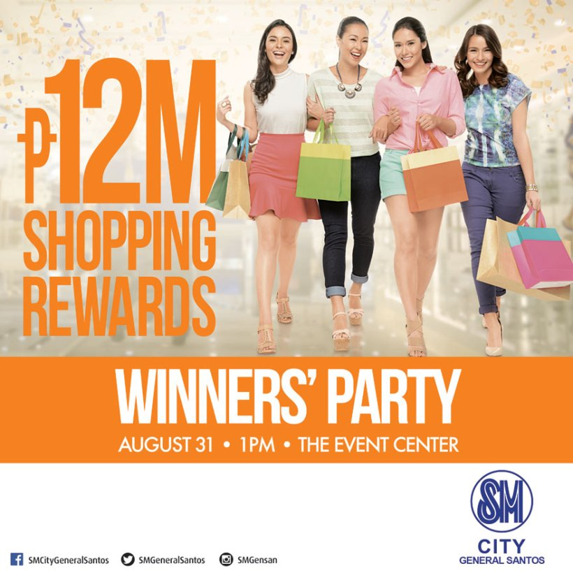 SM City Gensan Winners