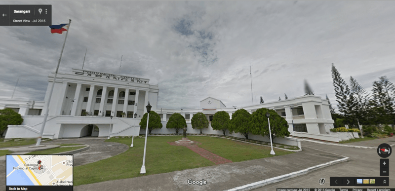 SARANGANI CAPITOL, ON GOOGLE STREET VIEW