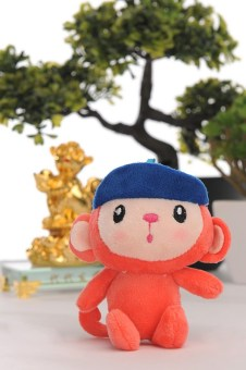 Undeniably cute little monkey from SM Children's Accessories.
