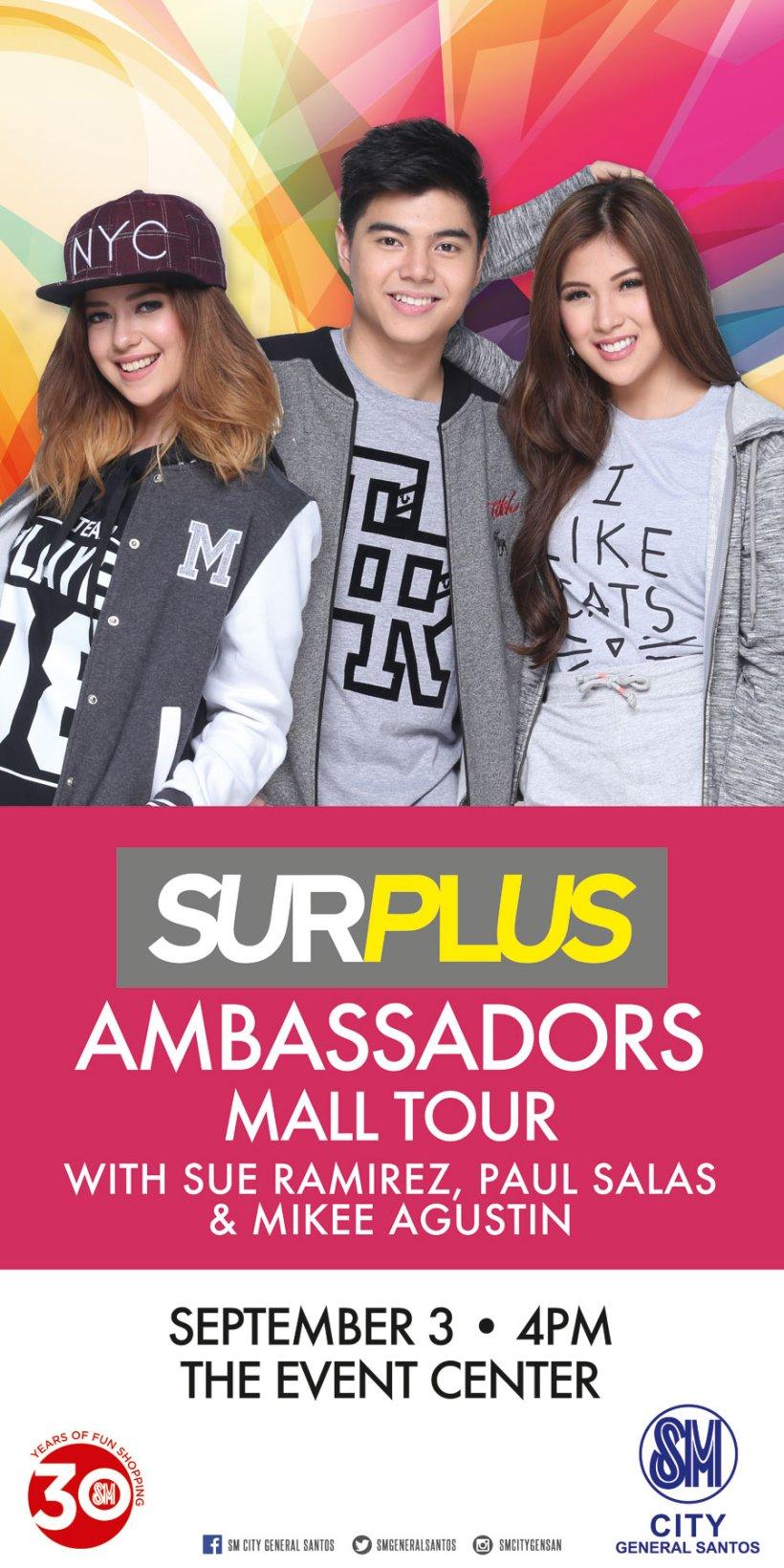SURPLUS AMBASSADORS MALL TOUR