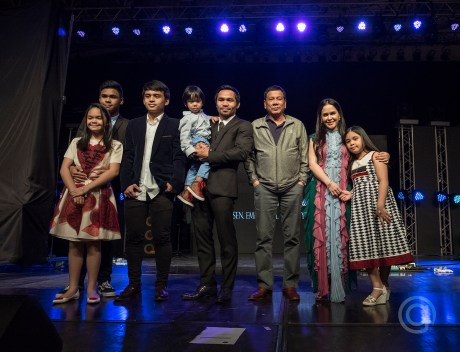 PACQUIAO FAMILY WITH PRESIDENT DUTERTE