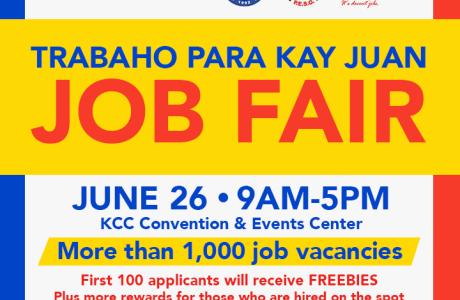 KCC Mall of Gensan conducts their biggest Job Fair ever: Trabaho Para Kay Juan