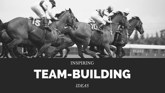 INSPIRING TEAM-BUILDING IDEAS