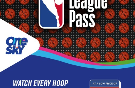 Sky Offers NBA League Pass & Access to Live and On-demand Games for only P499 Monthly