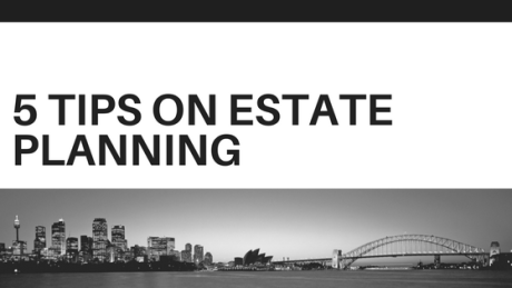 5 tips on estate planning