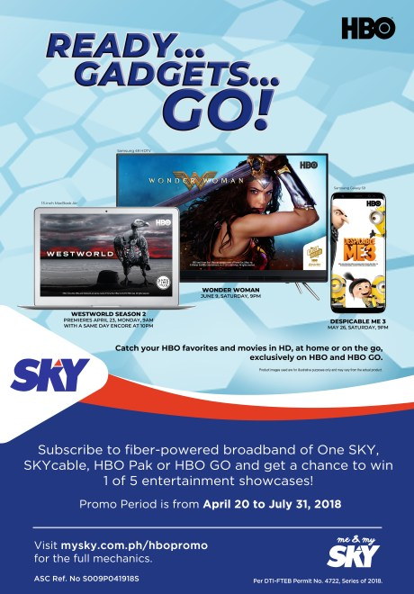 One SKY - HBO Raffle Promo