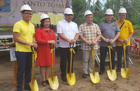 University of Santo Tomas breaks ground in General Santos City