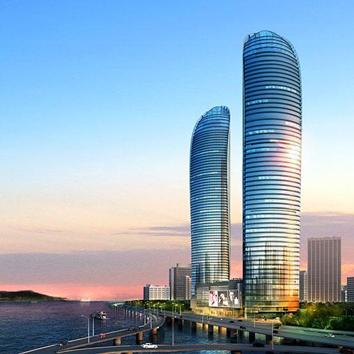 Xiamen Shimao Straits Tower  Projects  Gensler
