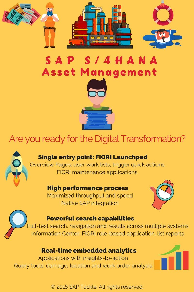 asset management with s4 hana