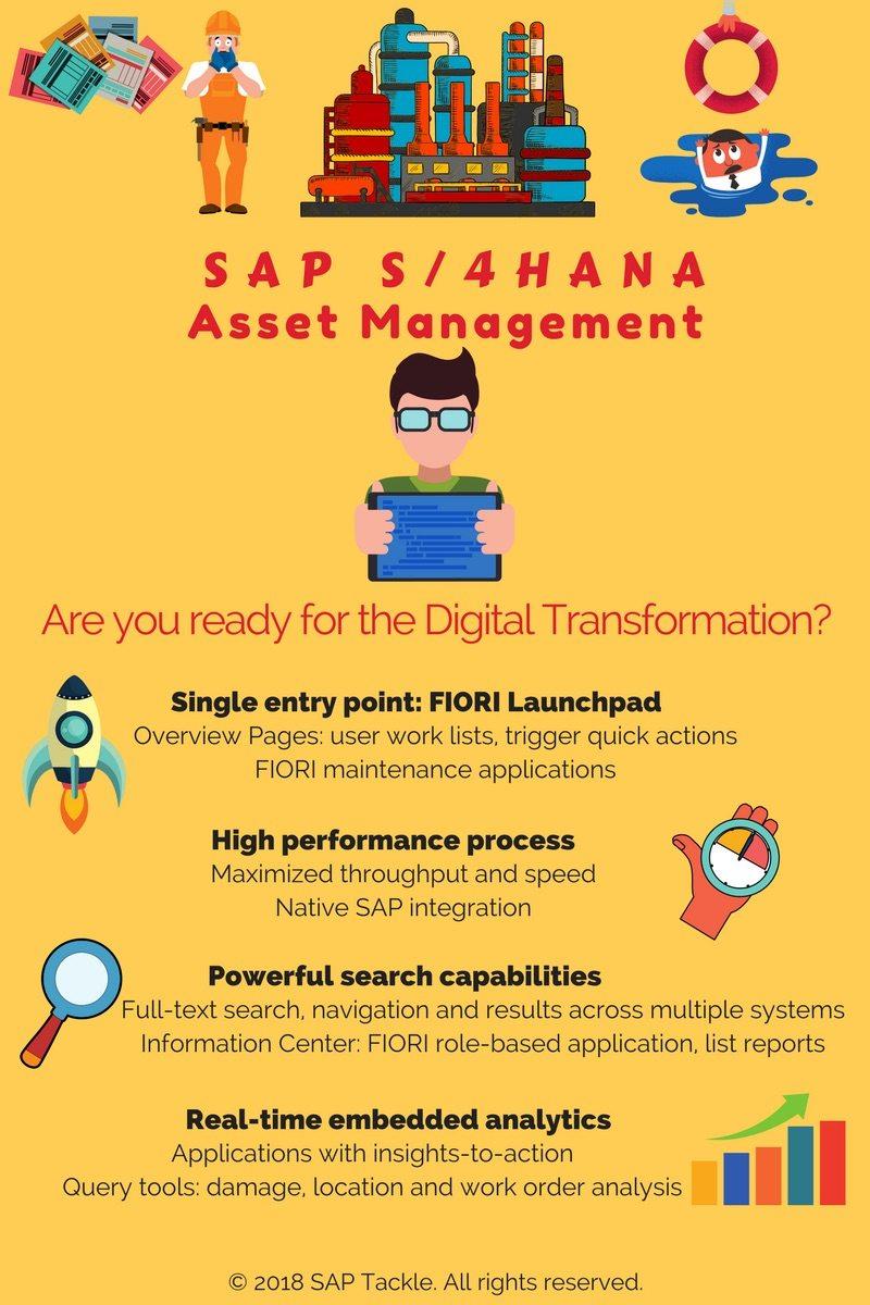 asset management with s4 hana