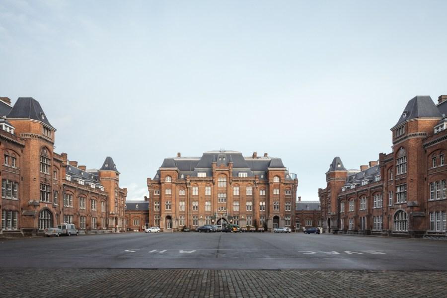 Voorlopig één open vlakte. De prijsvraag moet daar verandering in brengen. Foto's © Stijn Bollaert.