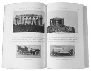 Le Corbusier vergeleek in zijn boek 'Vers une architecture' ook al de auto met architectuur.