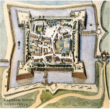 Het 'Castrum Novum', of het Spanjaardenkasteel.