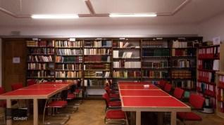 De oude leeszaal