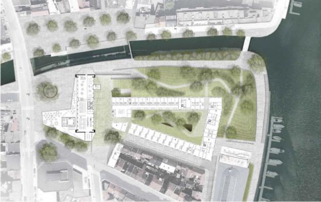 Persbericht - Belgacom-toren wordt markant woongebouw