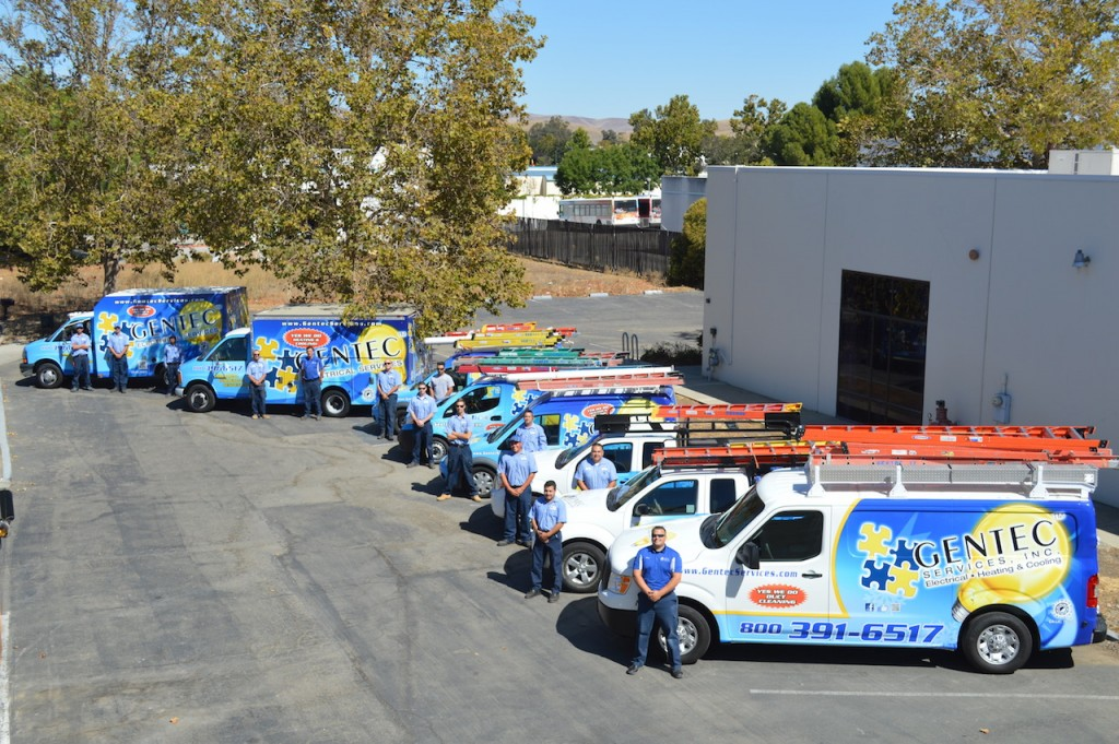 GENTEC Services Techs are the best Residential Electrician technicians in the Bay Area