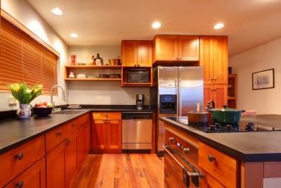 Recessed Lights in Kitchen