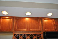 Canned lighting installed by our Dublin electricians