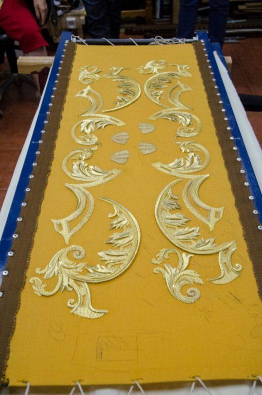 Fran Martínez acometerá la ejecución del diseño completo del paso de palio de la Virgen de la Piedad (4)