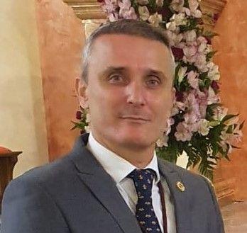 Juan Carlos León Real, hermano mayor electo de la Hermandad del Sol